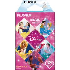 Fujifilm Instax Mini 10 Sheets Film Instant Disney Princess Fuji Camera Photos