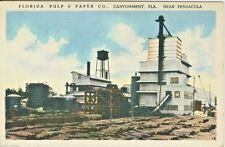 Cantonment FL The Florida Pulp & Paper Company 1944