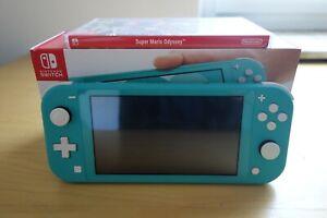 Nintendo Switch Lite Türkis + Super Mario Odyssey
