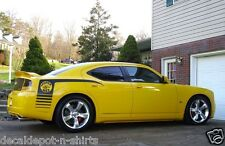 Fits Any DODGE CHARGER R/T, SRT, SRT8, SXT Super Bee Quarter Panel Decal