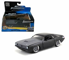 JADA 97206 FAST AND FURIOUS 7 LETTY'S PLYMOUTH BARRACUDA 1:32 MATTE GREY BLACK