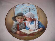 Sandra Kuck Little Tutor Days Gone By Collector Plate Reco International