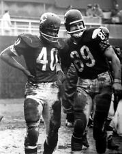 Chicago Bears MIKE DITKA & GALE SAYERS Glossy 8x10 Photo Football Print Poster