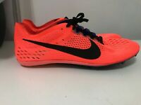 Nike Zoom Victory 3 Track & Field Spikes Hyper Orange Black Sz 12 (835997-804)