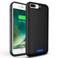 8500mAh External Battery Backup Charger Charging Cover Case For iPhone 8 Plus