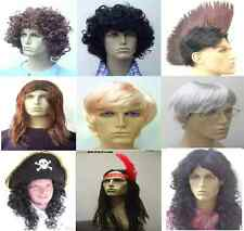 WIGS WIGS WIGS!! MEN'S WIGS! ALL MEN'S WIG STYLES AVAILABLE. PICK YOUR STYLE! UK