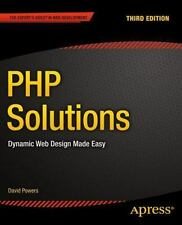 PHP SOLUTIONS - NEW PAPERBACK BOOK