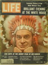 1962 Life Magazine: Bob Hope Peak Career/Nobel Winners' Evening at White House