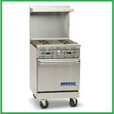 Imperial Range Ir 4 24 Restaurant Range With 4 Gas Burners Amp Standard Oven