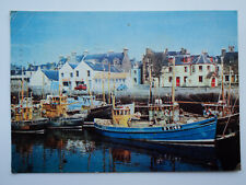 Dixon's large old colour PC Inner Harbour, Stornoway, Lewis Posted Fishing Boats