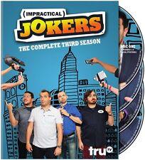 Impractical Jokers: The Complete Third Season - 4 DISC  (2015, REGION 1 DVD New)