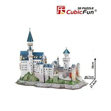 Neuschwanstein Castle Educational 3D Puzzle Jigsaw DIY Puzzles MC062h CubicFun