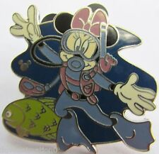 Disney WDW Hidden Mickey Collection Scuba Diving Minnie Mouse Pin