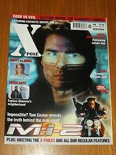 XPOSE #46 BRITISH MAGAZINE VISUAL IMAGINATION JUNE 2000 M.I 2 TOM CRUISE BUFFY