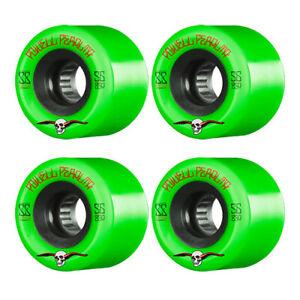 PowePeralta G-Slides 56mmll  85a Green Skateboard Wheels  + ABEC 11's