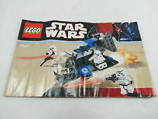 LEGO Star Wars Imperial Dropship 7667 Instructions Only Great Gift! S1 1.83