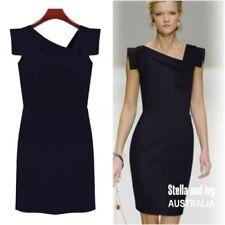Cotton Blend Short Sleeve Stretch Dresses for Women