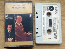 "Al Martino ""the best of"" cassette"