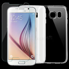 NEW Premium Screen Protector TPU Case For T-Mobile Samsung Galaxy S6 G920T Phone