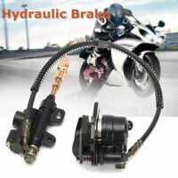 Hydraulisch Bremssattel Hinten Bremszange Für 110cc 125cc PRO Quad Dirt Bike