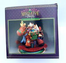 Mistletoe Magic Rocking Reindeer Christmas Animated Musical Tune Jingle Bell