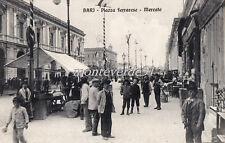 BARI - Piazza Ferrarese - Mercato   1912