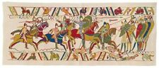 "NEW 44"" X 18"" TAPESTRY WALL HANGING REPRODUCTION OF PART OF THE BAYEUX TAPESTRY"