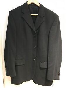 "BHS Collection Men's Casual Suit Jacket Coat Regular Fit Dark Green Chest 42"""