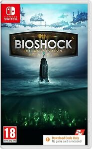 BioShock The Collection Nintendo Switch Game (Code in Box) NEW Sealed