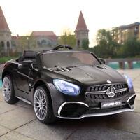 12V Licensed Mercedes Benz Kids Ride On Car With Remote Control MP3 Black