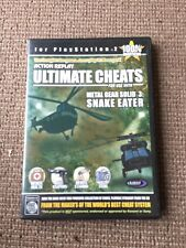 PS2 ultimate cheats mgs 3 Sony PlayStation 2 Console Pal Retro 1 Game