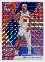 2019-20 Mosaic Sekou Doumbouya Pink Camo Prizm Rookie Refractor SP RC Pistons