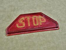 1925 1929 1922 1916 30s Lozier Ajax Kissel McFarlan STOP Tail Light Lens Antique