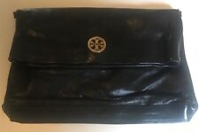 Tory Burch Womens Clutch Bag in Black