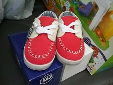 NEW Mistral Baby Boy European Styling Canvas Boat Shoes US 7