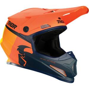 Thor Motocross Sector Racer Helmet Orange/Midnight