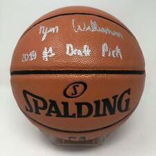"ZION WILLIAMSON Autographed ""2019 #1 Draft Pick"" Spalding Basketball FANATICS"