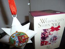 Hutschenreuther Stern Porzellan 2001 OVP