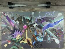Yu-Gi-Oh! ARC-V Yuto Dark Rebellion Xyz Dragon Playmat Free High Quality Tube