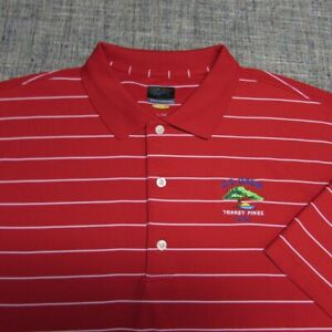 GREG NORMAN PLAY DRY POLY GOLF SHIRT--XL--US OPEN TORREY OINES--FLAWLESS!!