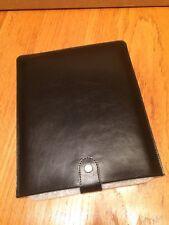 """Ordning & Reda Swedish Design Black 10"""" Leather Tablet Sleeve iPad Kindle Case"""