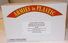 Armies in Plastic 5689 - Napoleonic/American 1812 - British Gun Battery     1:32