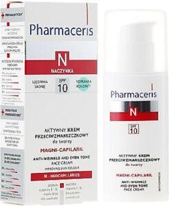 PHARMACERIS N Magni-Capilaril Anti-wrinkle face cream SPF10, 50ml