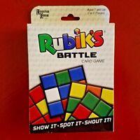 Rubik's Battle Card Game 2-6 Players 7+ Family Recreation