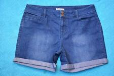 NEW Katies Stylish SHORTS.Stretch Blue Denim Size 16 NEW. Bo Ho Style RRP $49.95