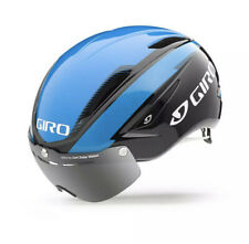 GIRO: AIR ATTACK SHIELD HELMET BLUE BLACK Medium Size BRAND NEW
