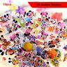 10 sheets Minnie Mickey Mouse 3D Bubble Stickers Cartoon Kids Reward Gift Toy
