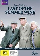 Last Of The Summer Wine : Series 27-28 (DVD, 2016, 4-Disc Set) (D165)