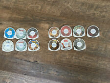 Lot of 13 PSP UMD Movies and Games