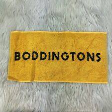 "New Boddington Brewery Bar Towel Black Yellow Pub Beer Man Cave 9"" x 18"""